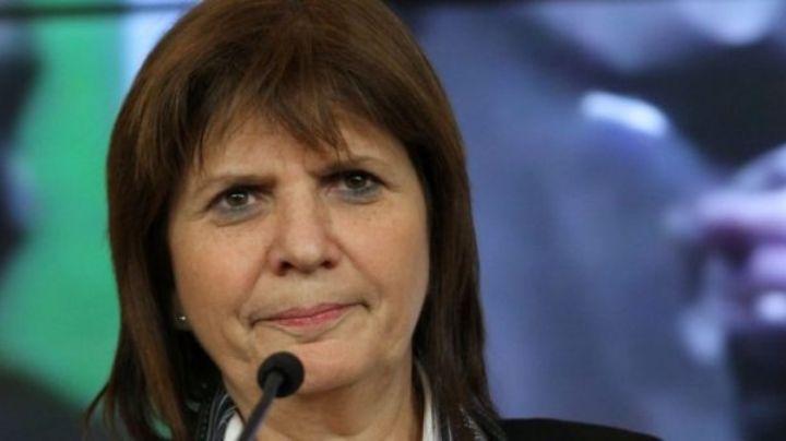 Patricia Bullrich defendió la medida en las estaciones de tren y le respondió a Alberto Fernández