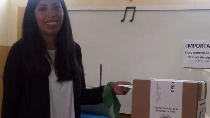 Elecciones Salta 2019: ¡No la dejaron votar porque tenía el pañuelo verde!