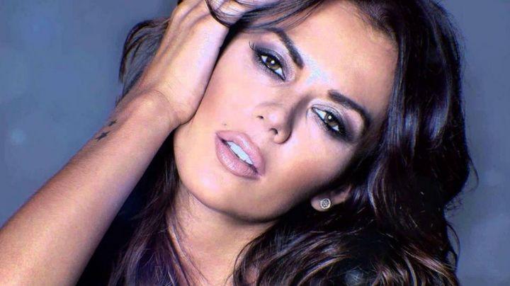 Tremenda caída de la modelo Karina Jelinek ¡No te lo pierdas!