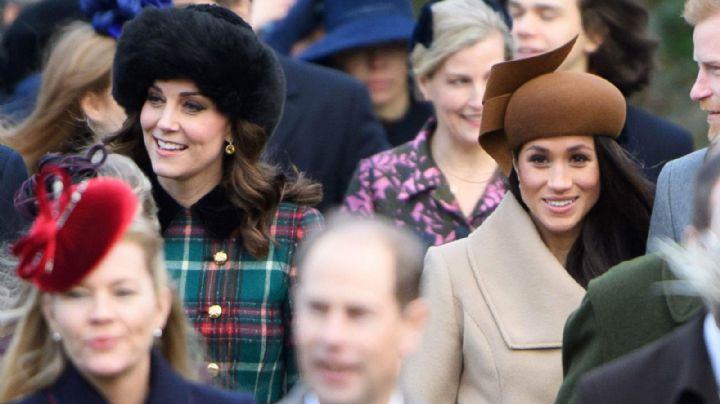 ¿Qué pretende la duquesa? Kate Middleton decidió acercarse a Meghan Markle