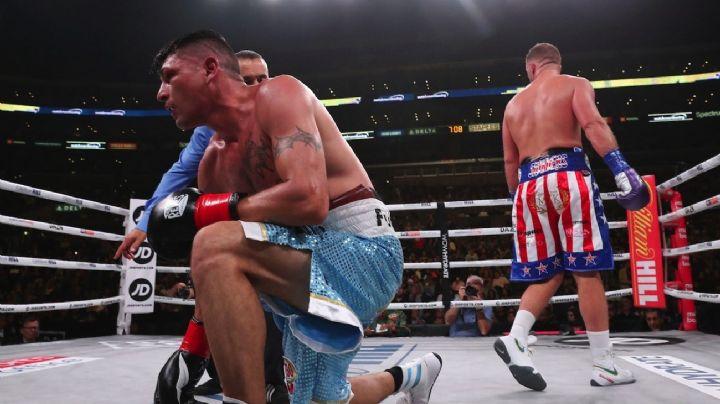 Impactante nocaut a un boxeador argentino en la pelea por un título