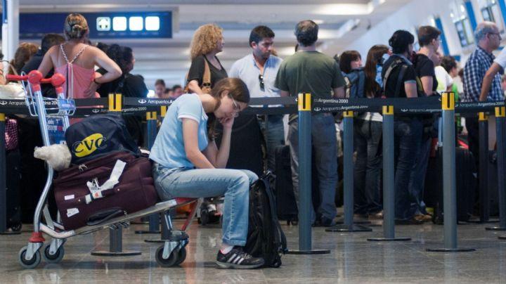 Protesta de aeronáuticos afecta a más de 50 vuelos en Ezeiza y Aeroparque