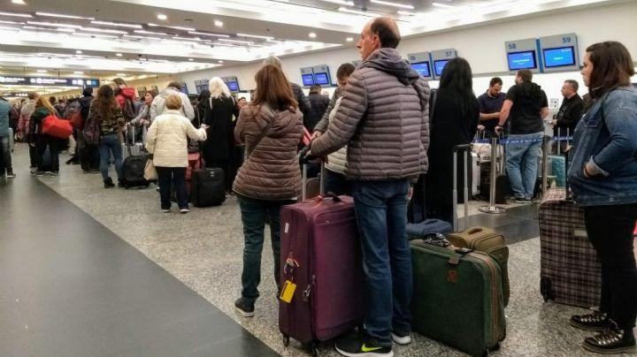 Una protesta en Aerolíneas dejó cerca de 15.000 pasajeros varados