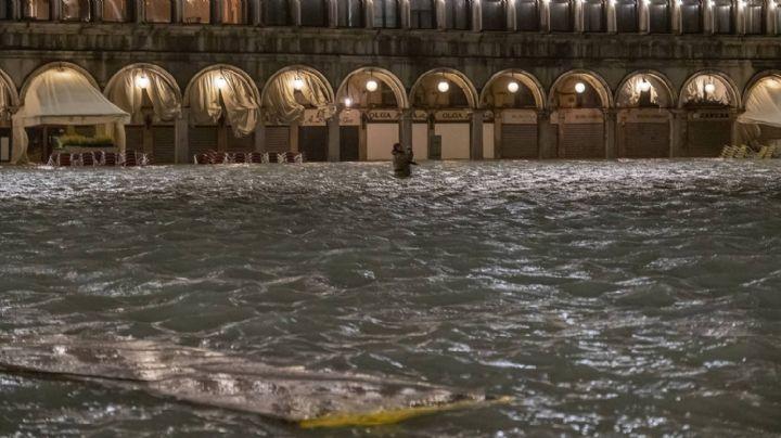 Venecia sufre las peores inundaciones de los últimos 53 años
