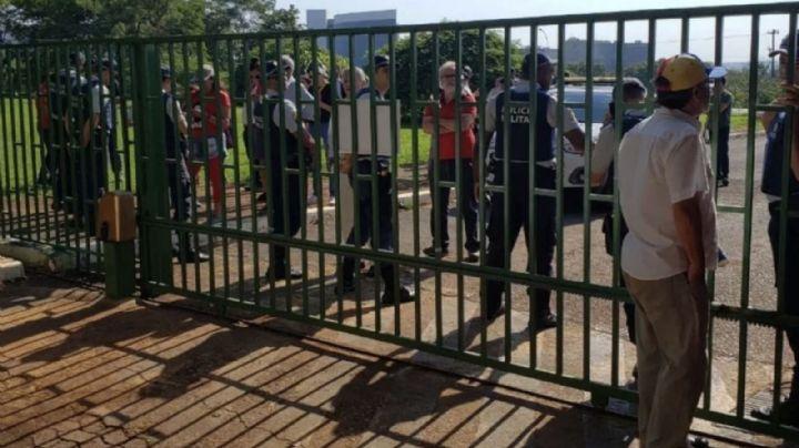 Grupos de Guaidó tomaron la embajada de Venezuela en Brasil