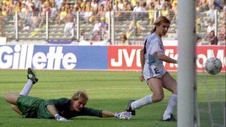 El gol de Caniggia que gritó todo el país