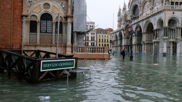Declaran estado de emergencia en Venecia tras las inundaciones