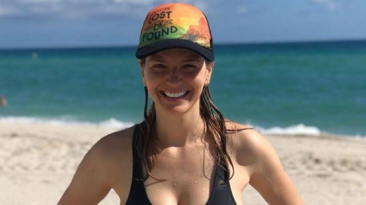 ¡Radiante! Marcela Kloosterboer mostró su cuerpazo en bikini tras haber sido madre