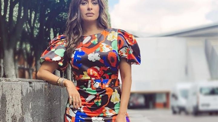 Galilea Montijo y una increíble falda con transparencias. ¡Todos la miran porque es de otro mundo!