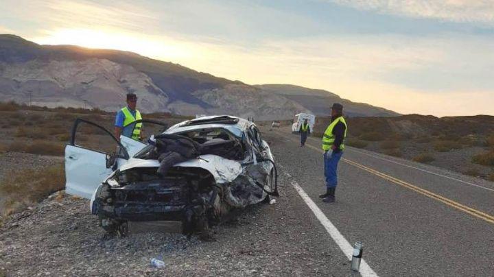 """""""Sobre ruta 40"""": Accidente fatal en Neuquén"""
