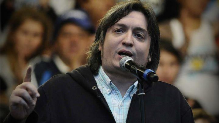 Máximo Kirchner advirtió sobre la situación de la Democracia en la región
