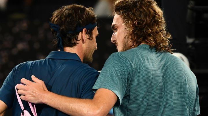 Federer cayó ante Tsitsipas y se quedó sin final del Torneo de Maestros