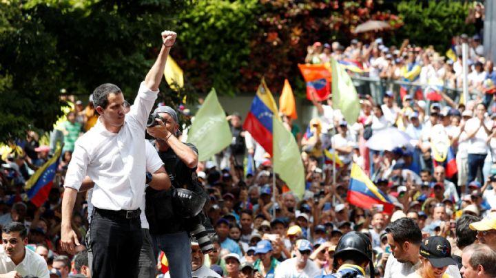 Juan Guaidó llamó a la protesta permanente en Venezuela
