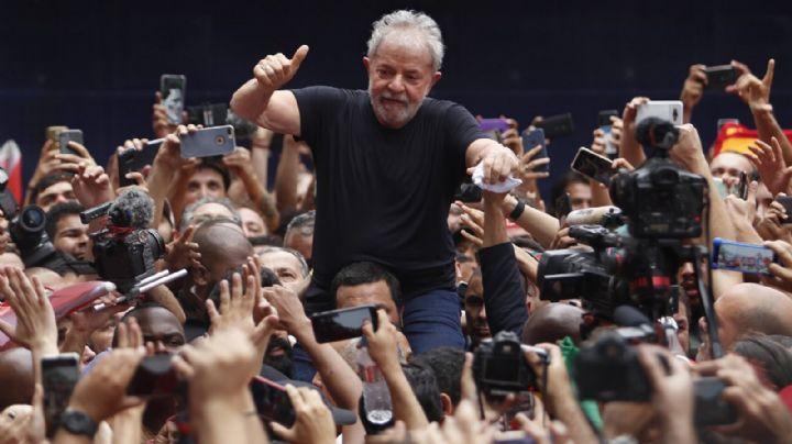 """Lula da Silva invitó a sus seguidores al """"Festival Lula Libre"""""""