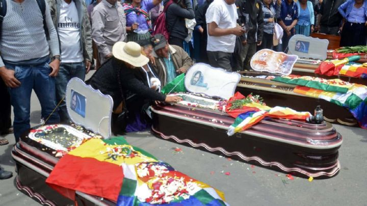 Ascienden a 23 los muertos en Bolivia tras el golpe de Estado