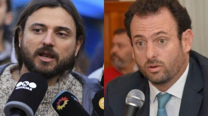 """""""Es una amenaza"""" Lapidario cruce entre José Urtubey y Juan Grabois"""