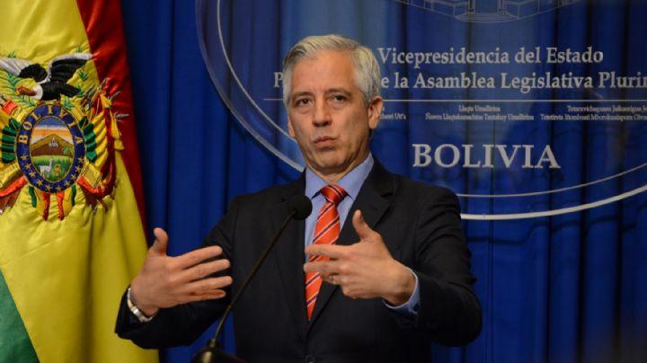 """Álvaro García Linera se declaró """"vicepresidente en el exilio"""" de Bolivia"""