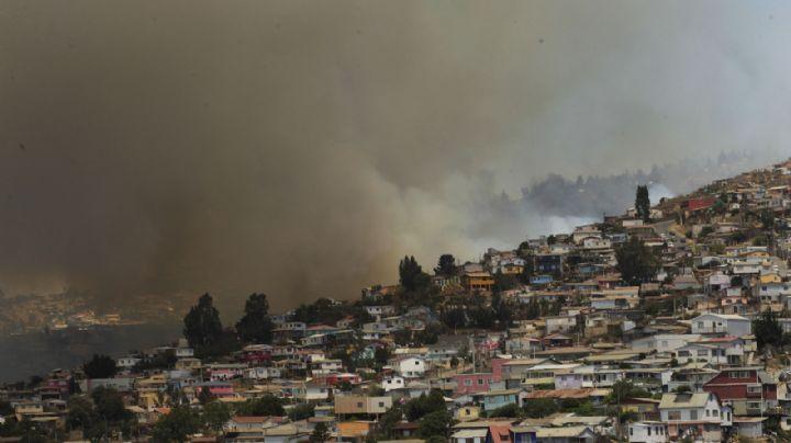 Confirman que los incendios forestales en Valparaíso fueron intencionales