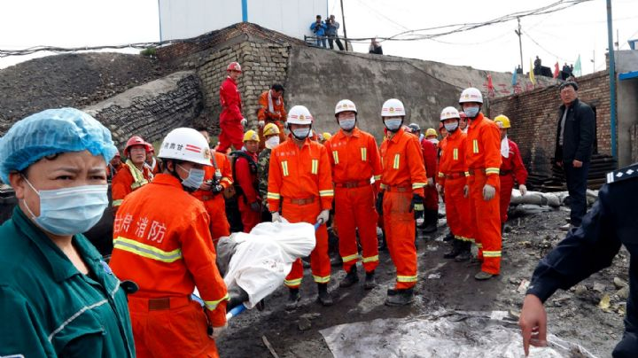 Una explosión en una mina de carbón en China deja un saldo de 15 muertos y varios heridos