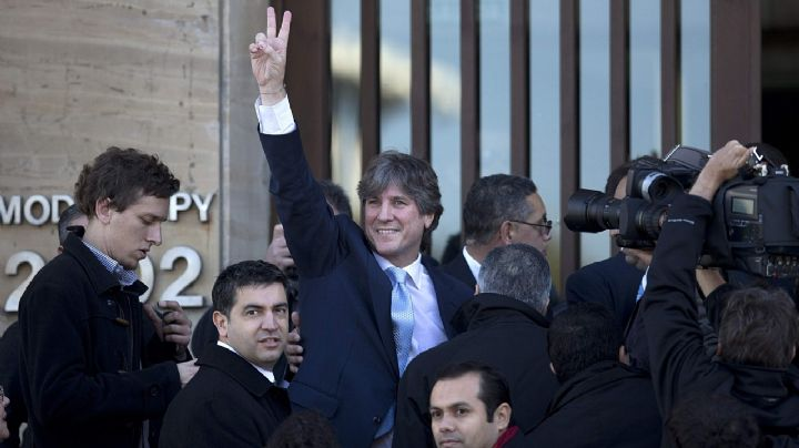 """En su cumpleaños, Boudou afirmó su inocencia y acusó a Macri de """"robarse el país"""""""