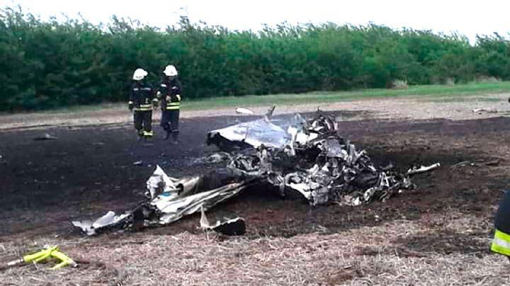 Una avioneta se estrelló y murieron dos empresarios que viajaban a Neuquén
