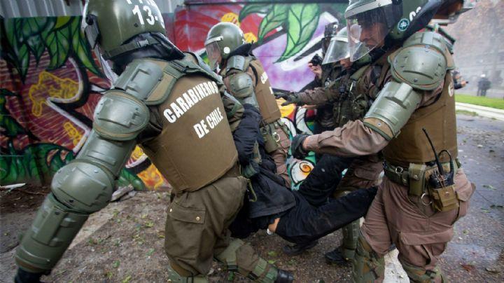 Carabineros chilenos suspenden el uso de perdigones en las manifestaciones