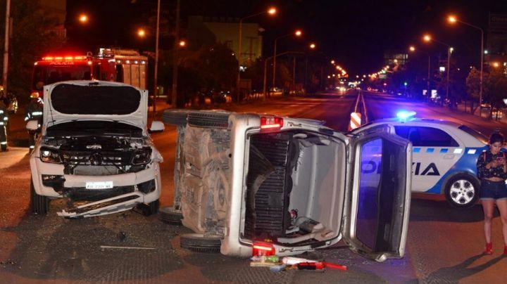 """""""Milagro en Neuquén"""": Impactante accidente sobre ruta 22"""