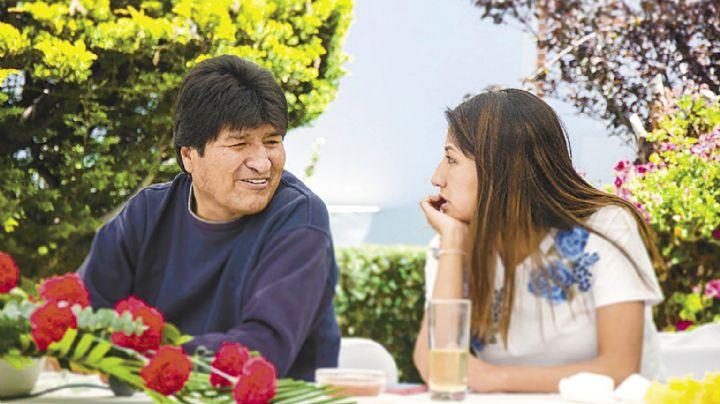 Autorizan un salvoconducto para que la hija de Evo Morales viaje a México