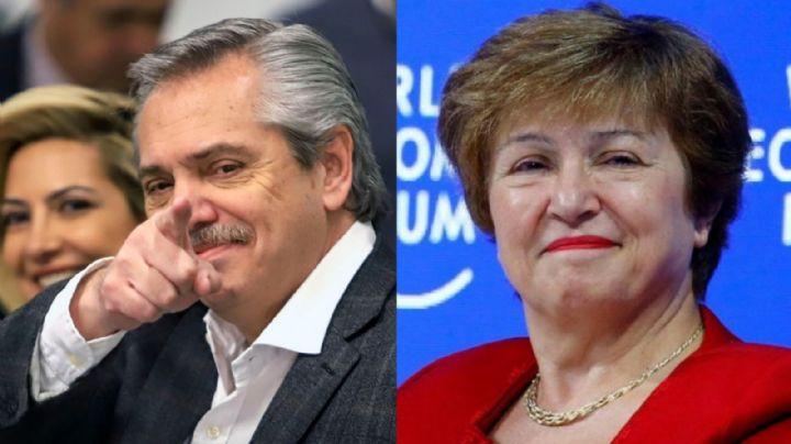 El FMI reafirma su compromiso con el gobierno de Alberto Fernández