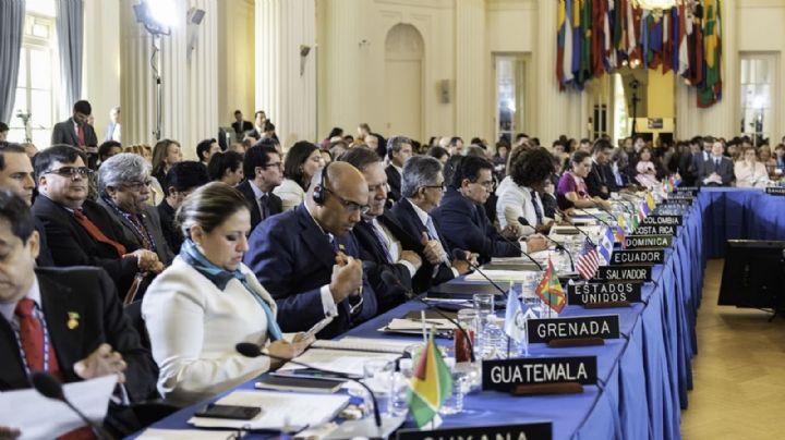 La OEA aprueba la resolución que pide a Bolivia convocar con urgencia a elecciones