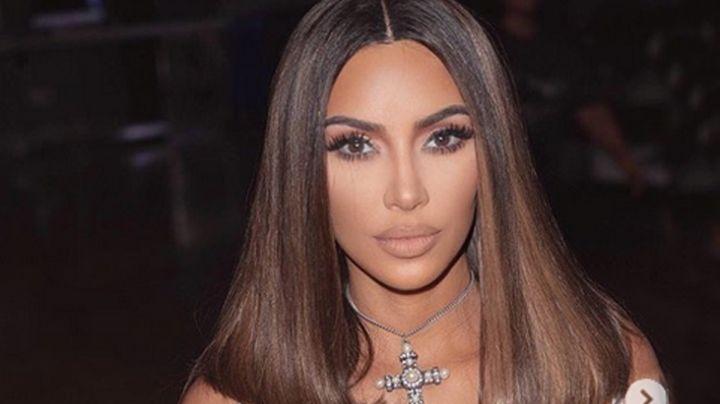 """¡Ay, mamita!"": Así sale Kim Kardashian a la calle ¡sin prenda interior!"