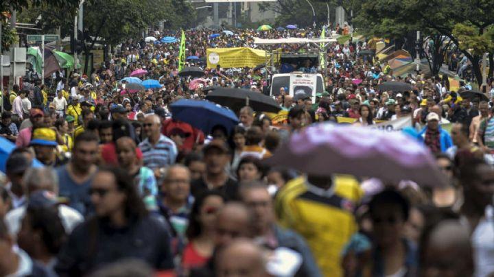 Inició el paro nacional en Colombia con multitudinarias marchas en rechazo al gobierno de Duque