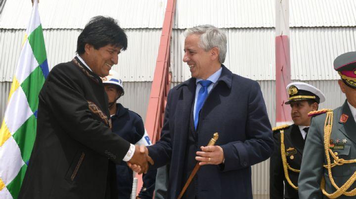 Evo Morales no será candidato en las elecciones en Bolivia, así lo confirmó Álvaro García Linera