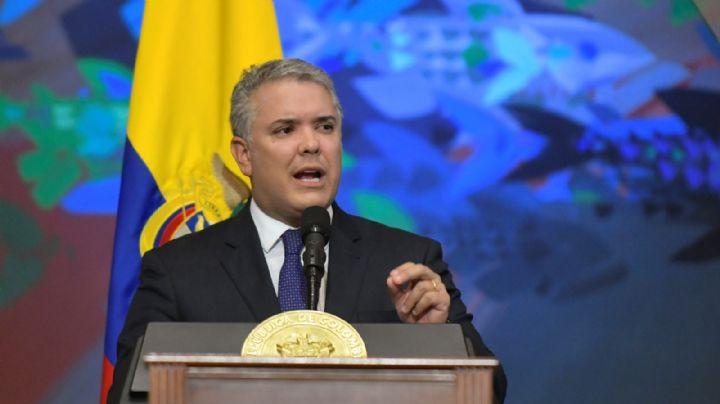 Tras el paro nacional en Colombia habló el presidente Iván Duque