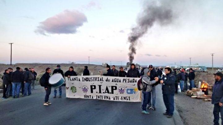 """""""Volveremos"""": Hubo piquete sobre ruta 22 de trabajadores de la PIAP"""