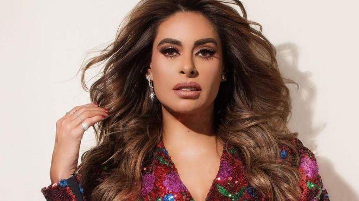 Galilea Montijo roza sus atributos con esta famosa cantante y ¡Vaya escote de infarto!