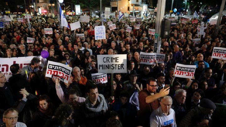 Se agudiza la inestabilidad en Israel tras la imputación de Netanyahu