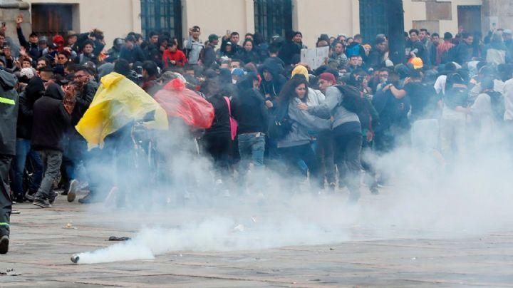 Segundo día de protestas deja tres muertos en Colombia