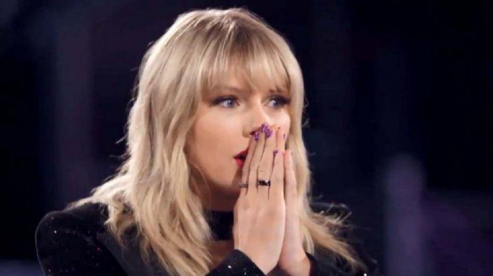 ¡Enseña hasta el alma! El viento le jugó una mala pasada a la falda de Taylor Swift