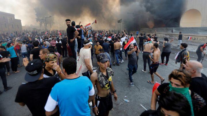 Al menos 2 muertos y 40 heridos tras nuevas protestas en Irak