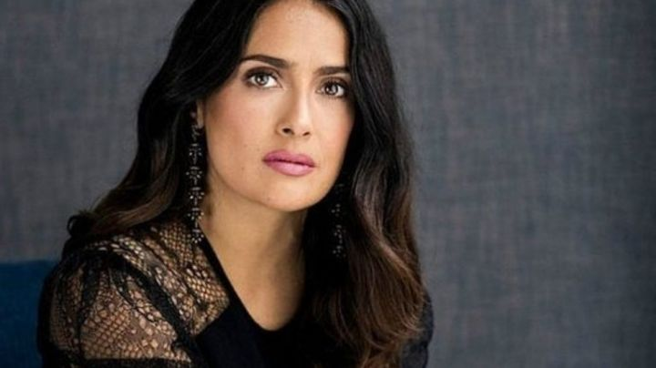 Salma Hayek y un montaje que generó sorpresa entre sus fans ¡Una locura!