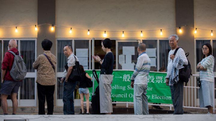 Participación récord en unas elecciones de Hong Kong que estuvieron marcadas por las protestas