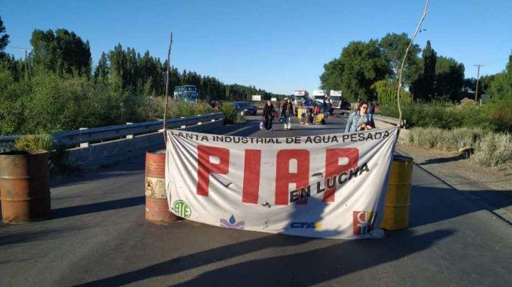 ¡Sigue el piquete!: Trabajadores de la PIAP, firmes en la ruta 22...