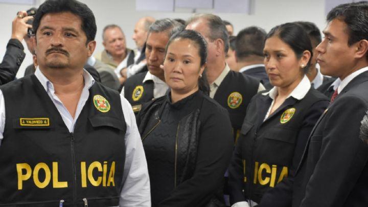 La Justicia de Perú dejó en libertad a la ex candidata presidencial Keiko Fujimori