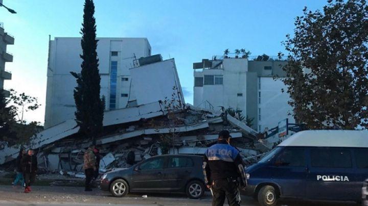 Un terremoto en Albania deja al menos nueve muertos y más de 600 heridos