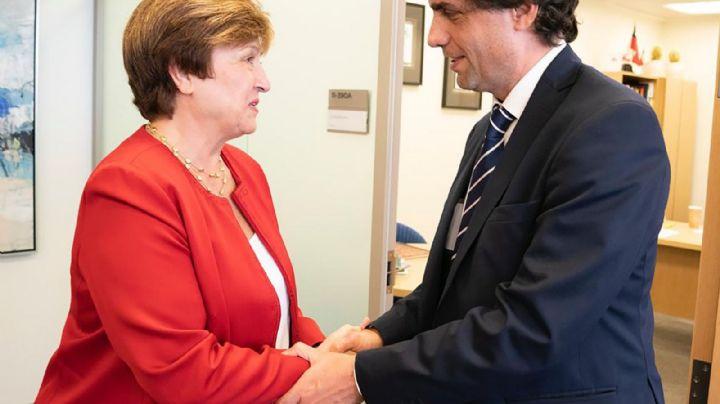 Lacunza salió al cruce de Alberto Fernández por la cancelación de la deuda con el FMI