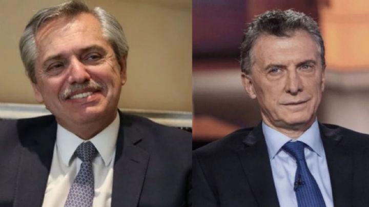 """""""Se portó muy bien"""" Alberto Fernández reconoció la mano de Macri para traer a los hijos de Evo"""