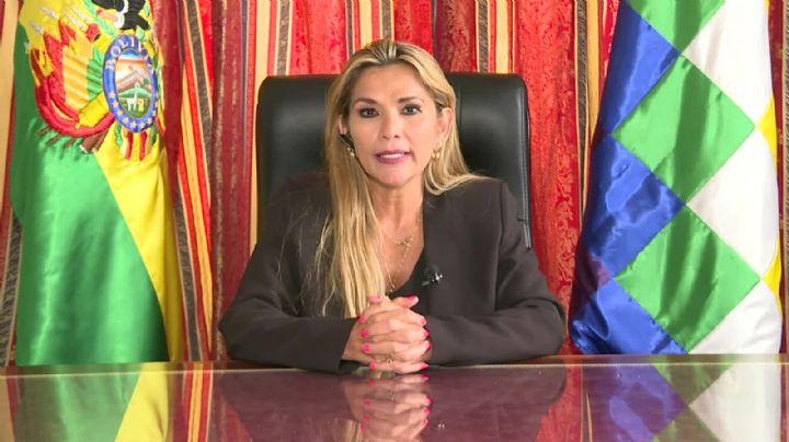 La autoproclamada presidenta de Bolivia nombró a su embajador en Estados Unidos tras 11 años de conflicto