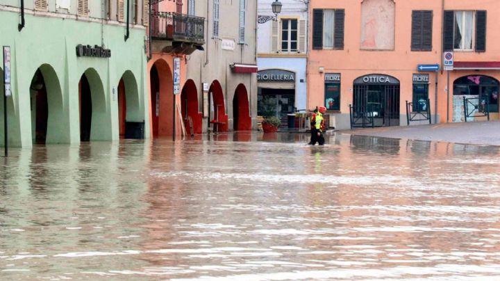 Las intensas lluvias en Francia, Italia y Grecia se cobraron la vida de 9 personas