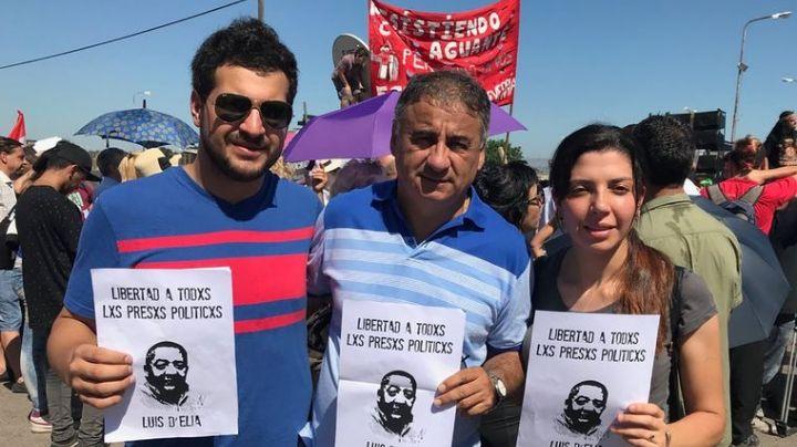 Arrancó la marcha por la libertad de los presos K